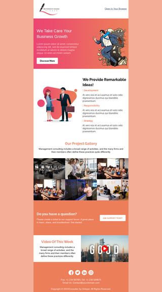 Business Growth Consulting Promotion