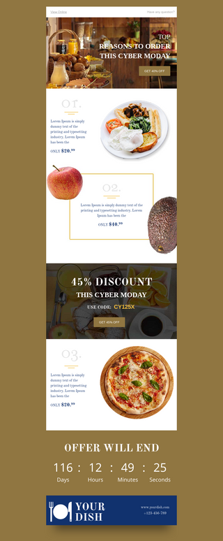 Cyber Monday Cafe Discount