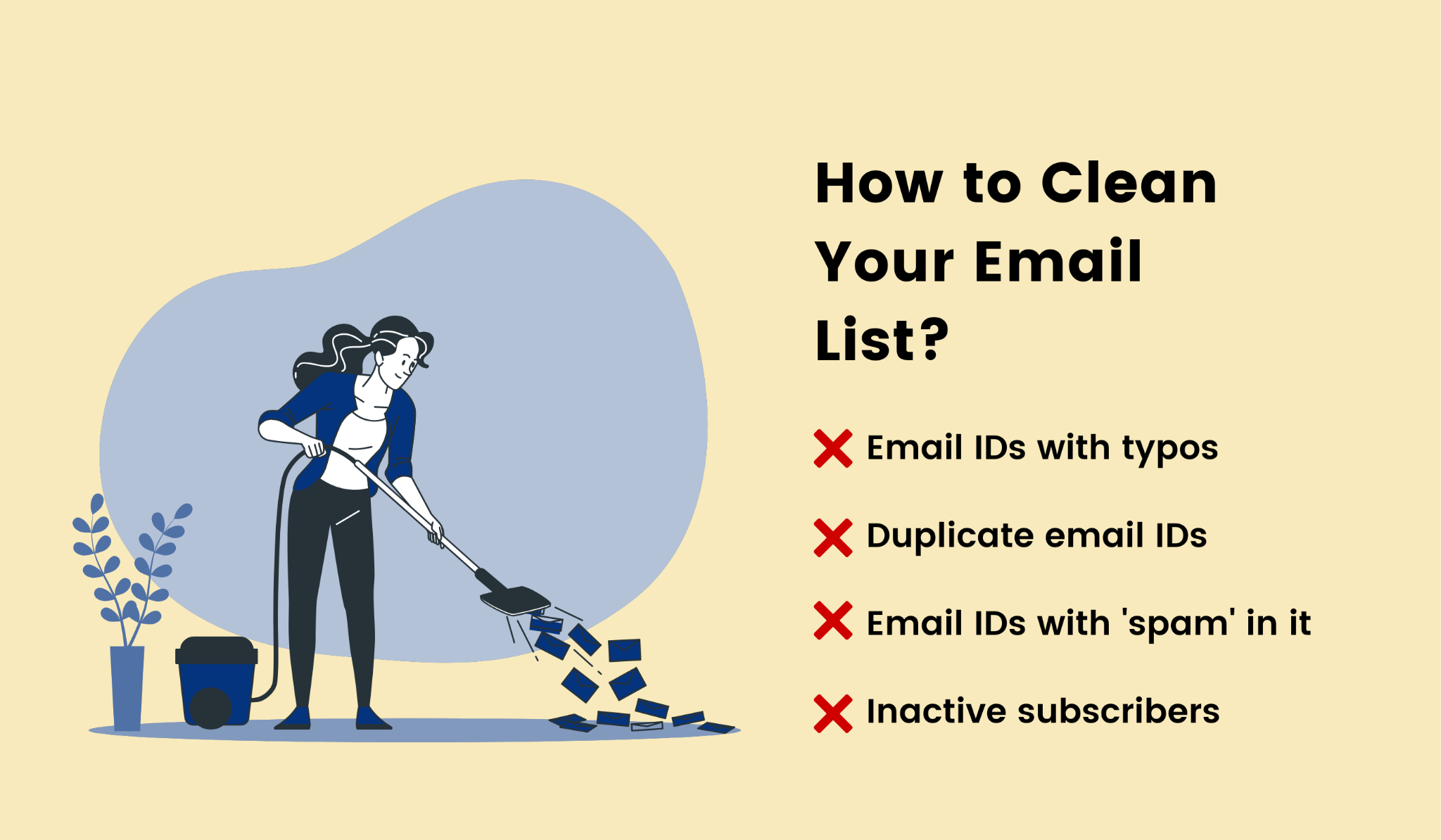 4 tips for cleaning your email list