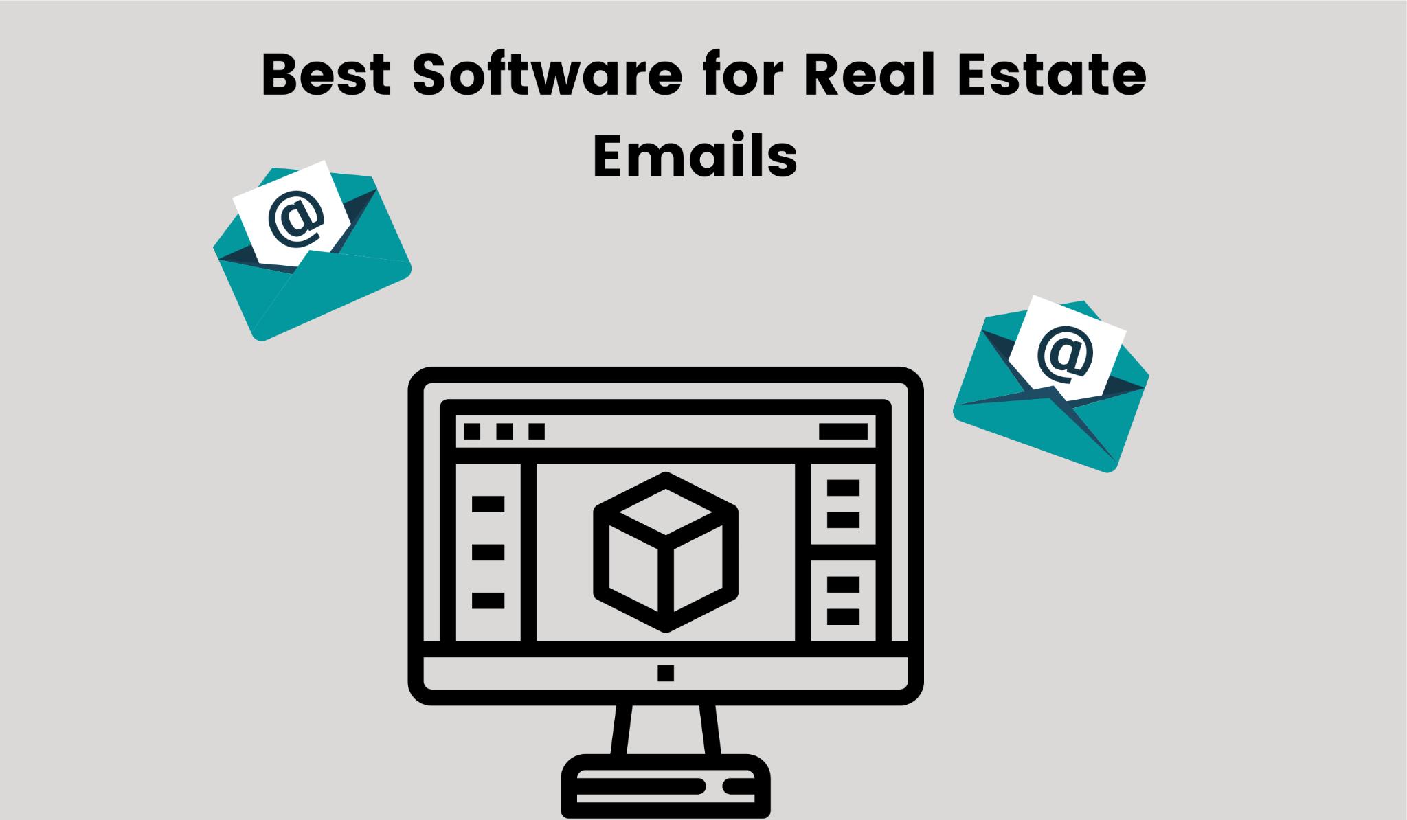 List of best softwares for designing real estate emails.