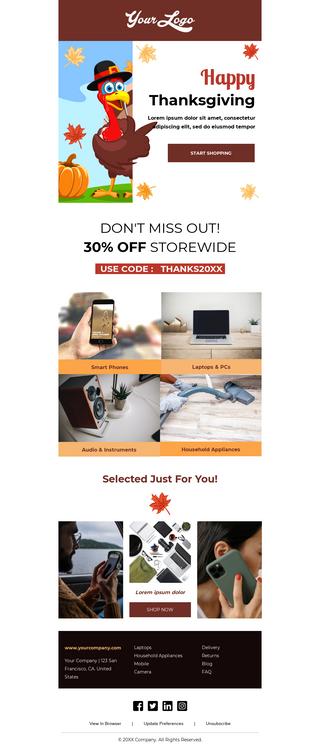 Thanksgiving Tech Gadgets Sale