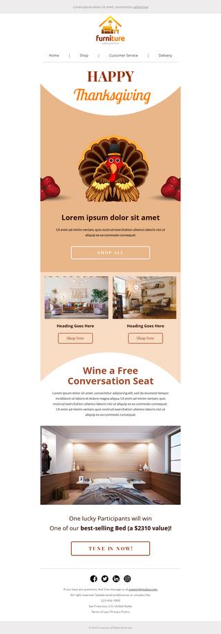 Thanksgiving Furniture Sale