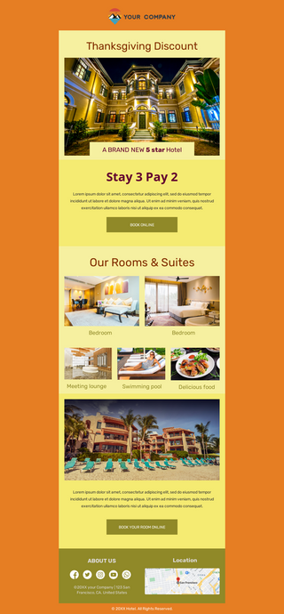 Thanksgiving Hotel Discount