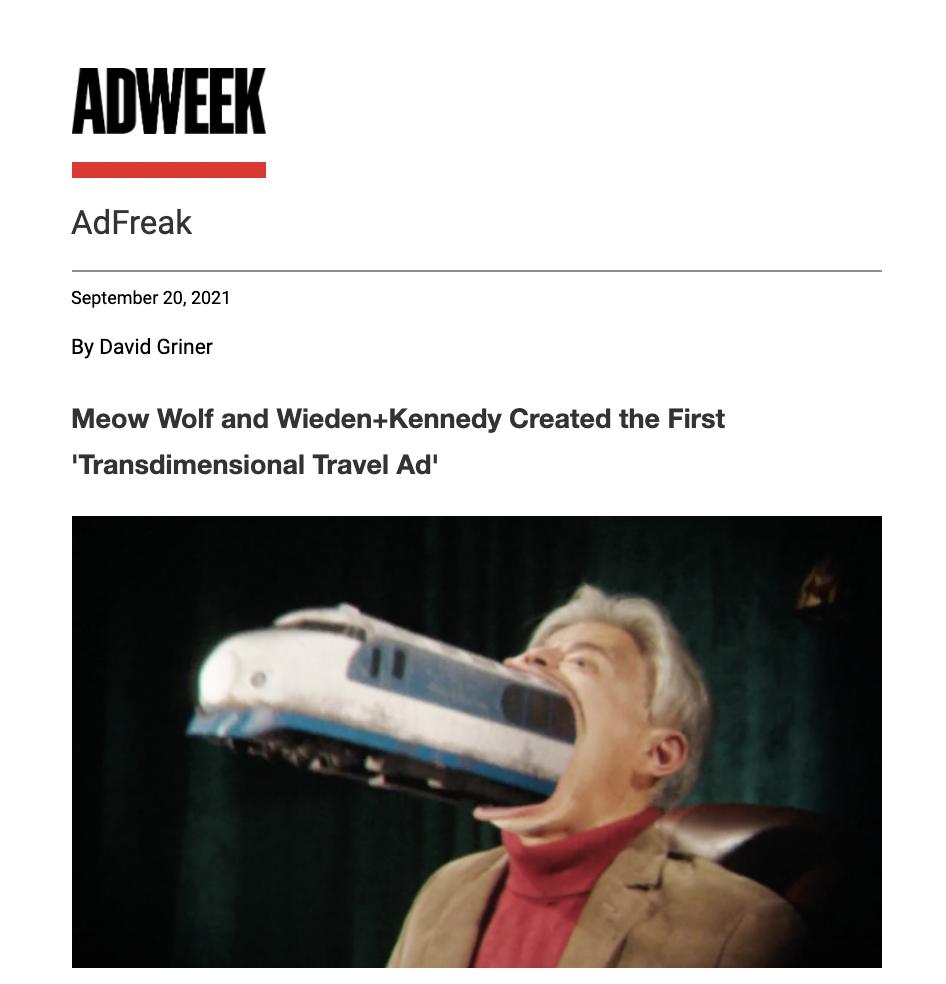 Newsletter from AdFreak