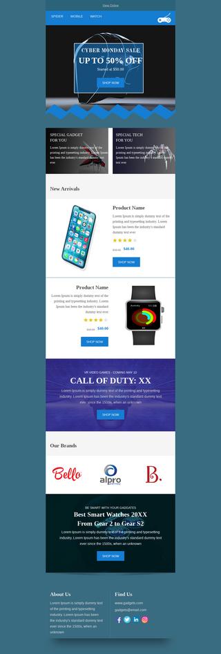 Cyber Monday Tech Gadgets Sale