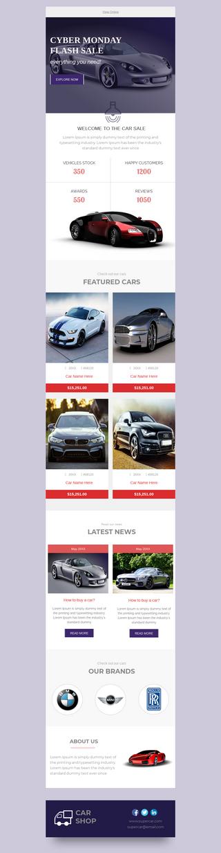 Cyber Monday Super Automotive Sale