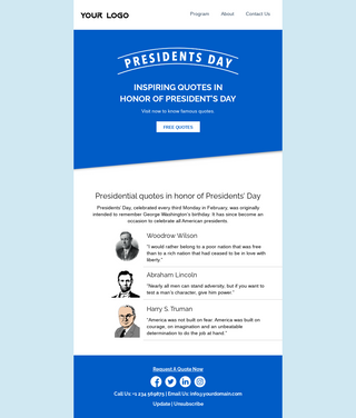 Presidents' Day Quotes
