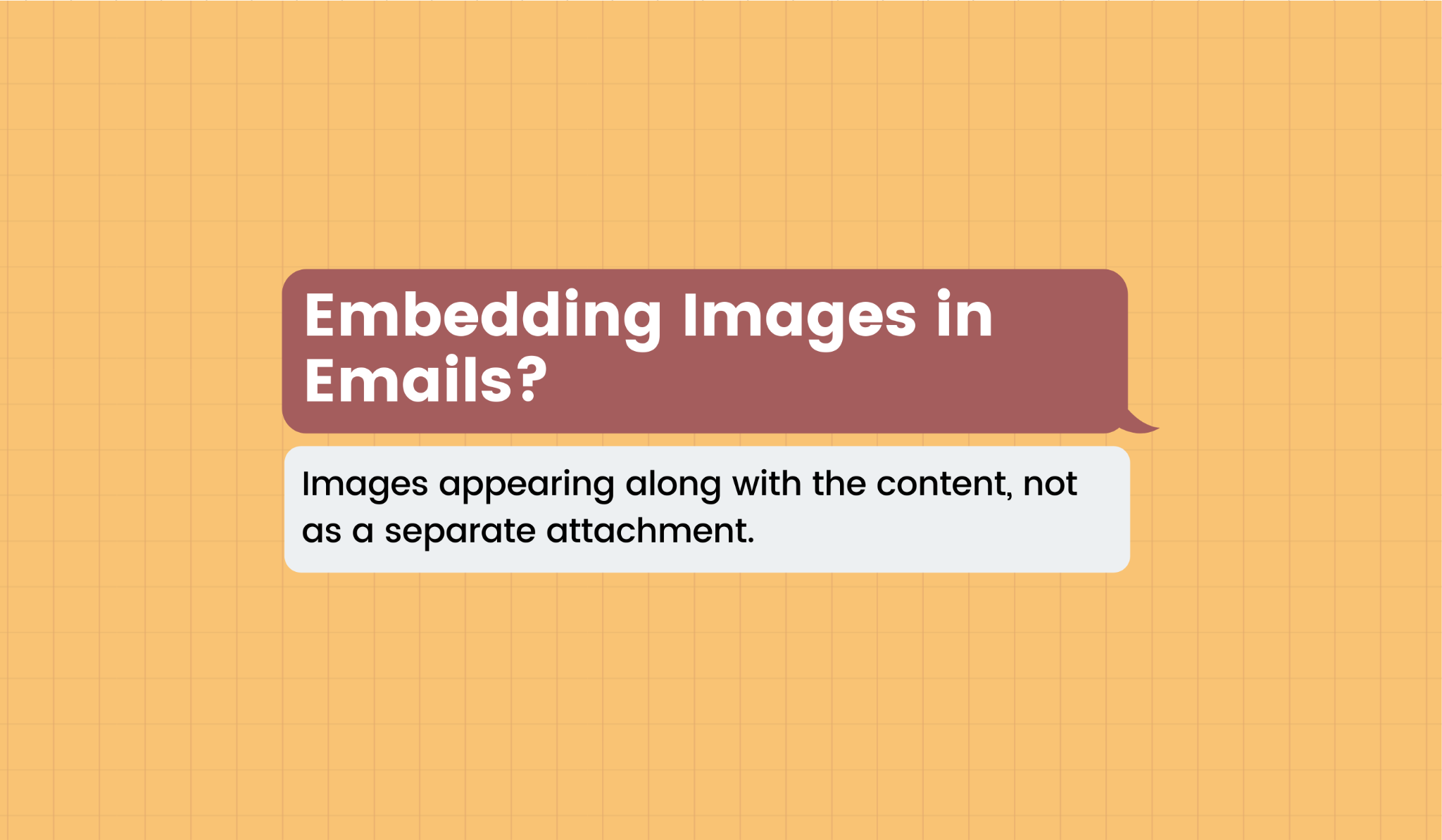 Definition of embedding images in emails
