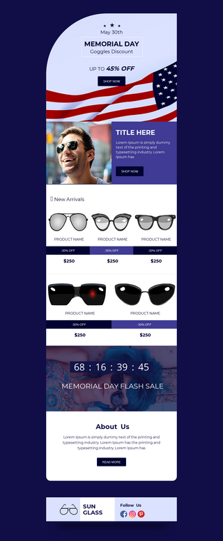 Memorial Day Goggles Discount