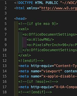 Custom HTML Code