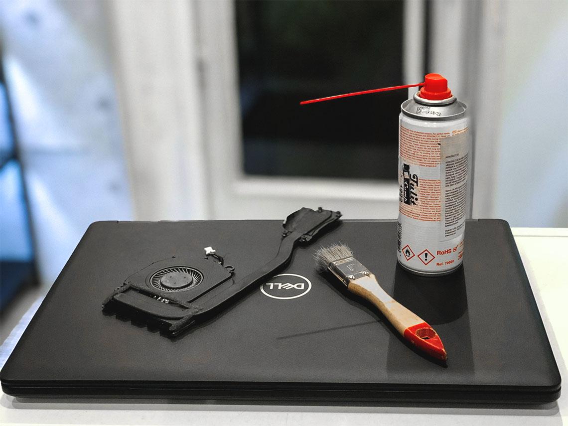 laptop tisztítás, laptop takarítás, melegedő laptop, ventilátor tisztítás