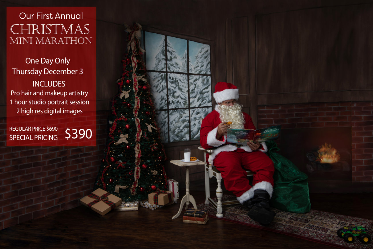 Christmas Mini Marathon - Dec. 3 - Special Pricing $390