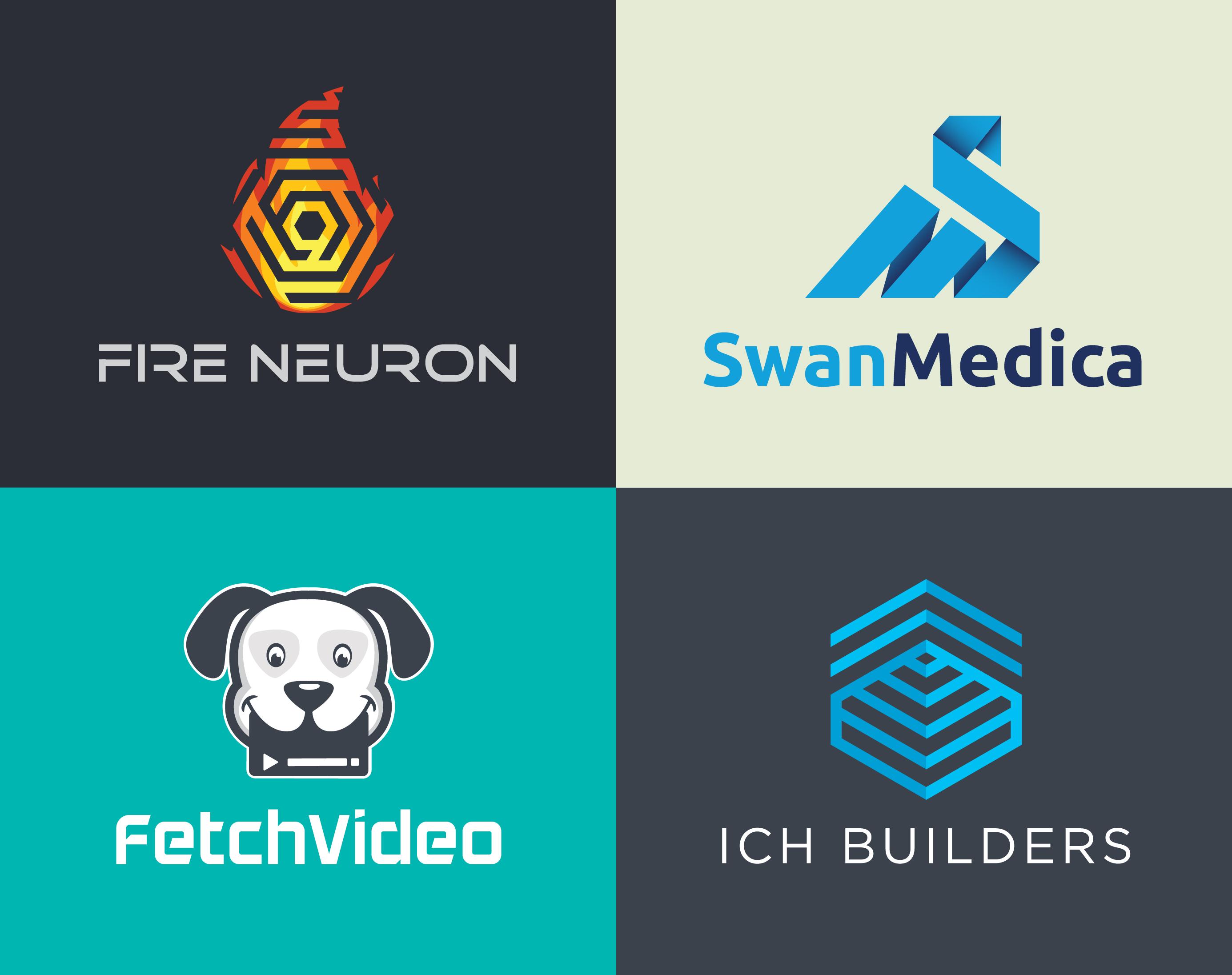 Unique Logo Grid