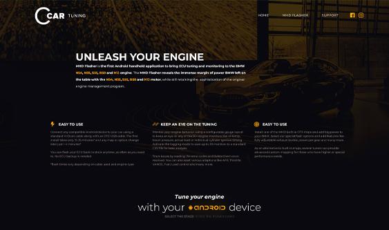 CarTuning Website
