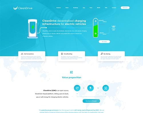 CleanDrive Website