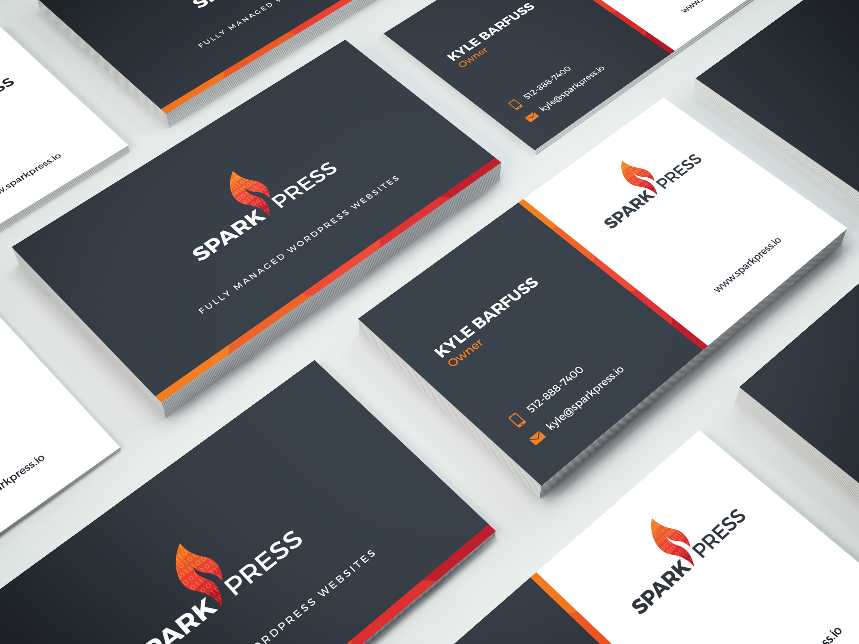 SparkPress Business Cards