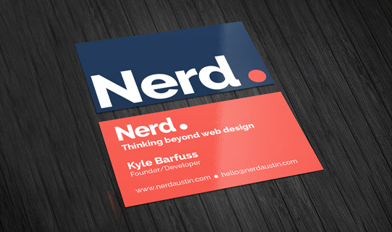 Nerd Business Cards