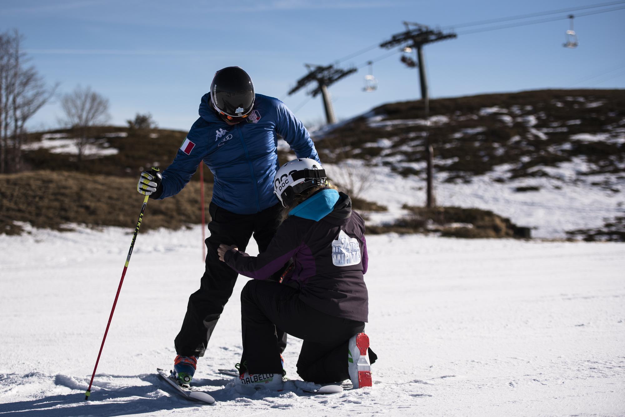 lezioni di sci in2thewhite