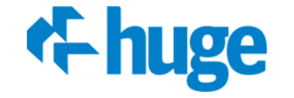 Huge bostäder logo
