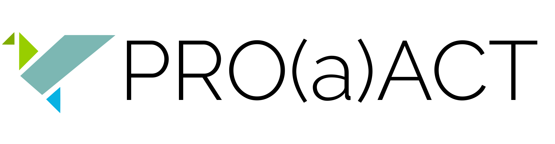 PRO(a)ACT logo black