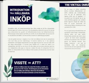 e-guide hållbarhet