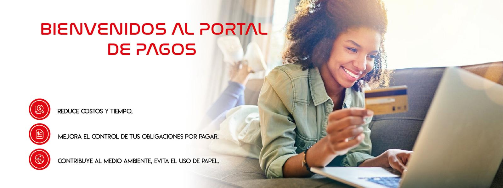 Portal de pagos en línea
