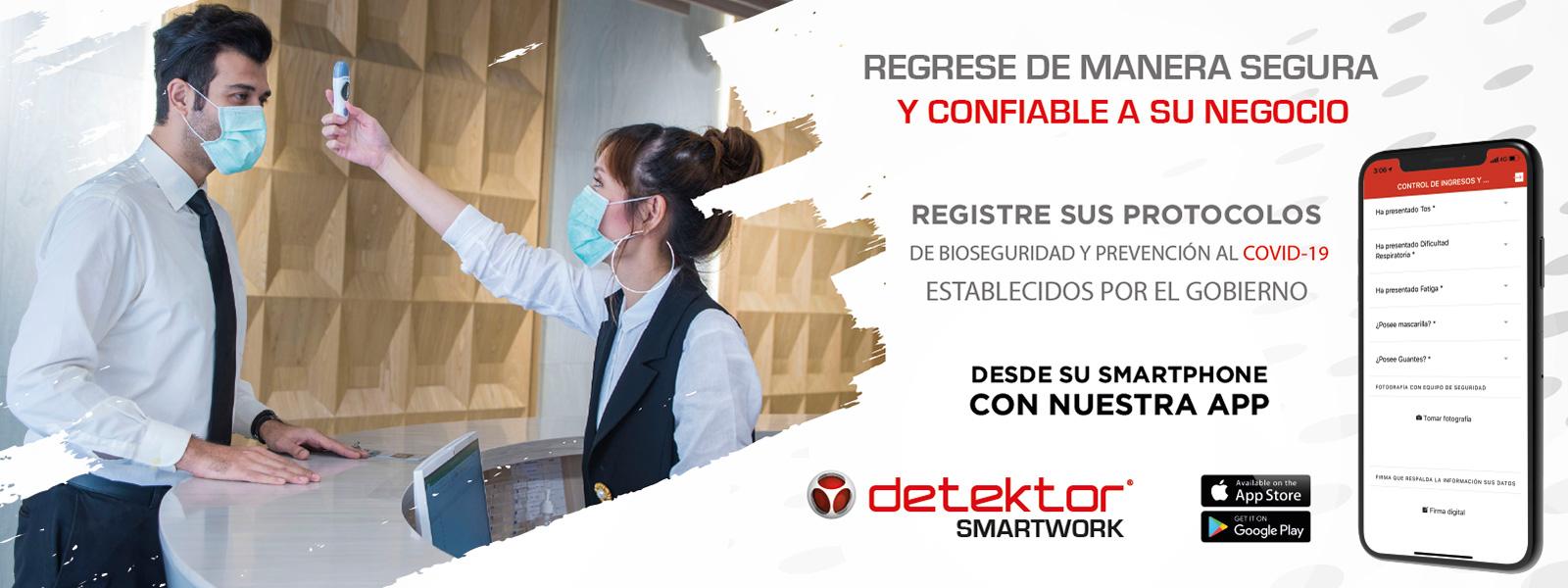 Detektor SmartWork gestión del teletrabajo