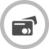 icono tarjeta de crédito