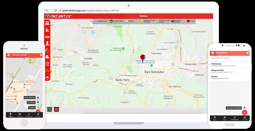 Celular y tablet app