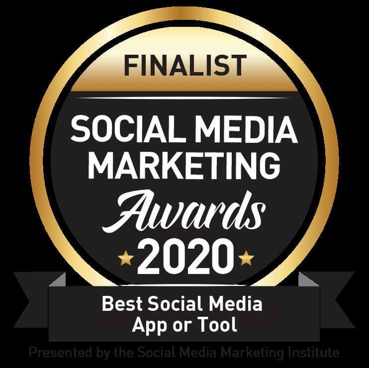Social Media Marketing Awards finalist badge