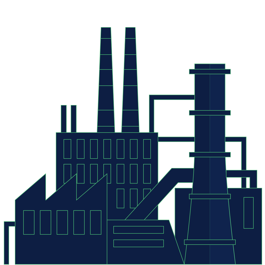 Manufacturing Illustration