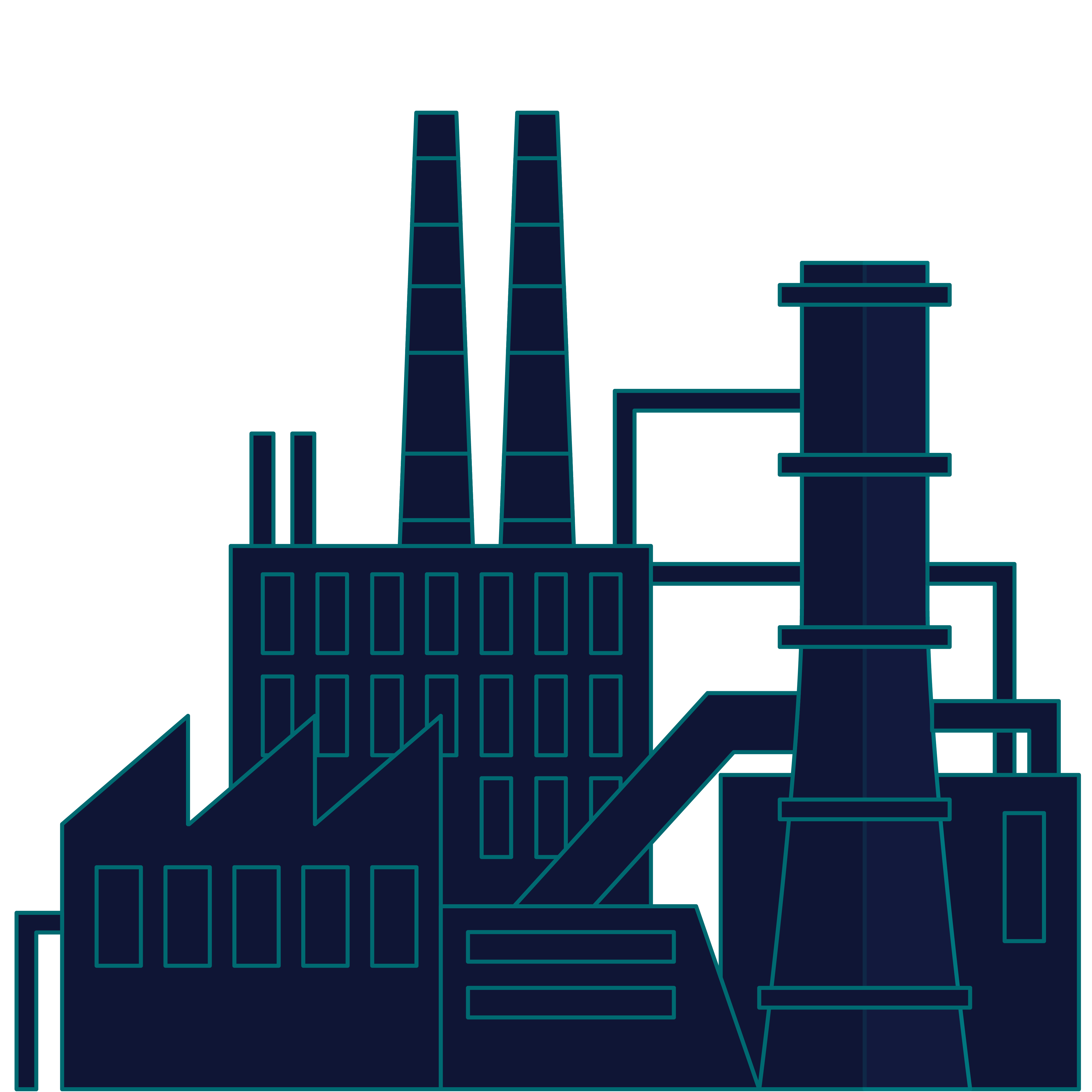 Manufacturing Illustration