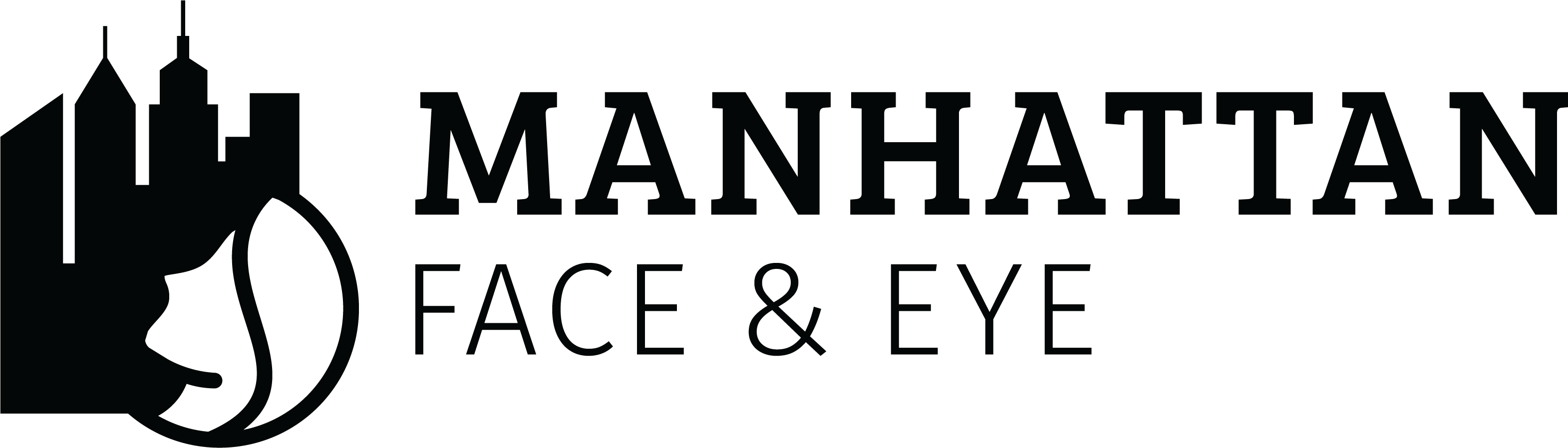 Manhattan Face & Eye Logo