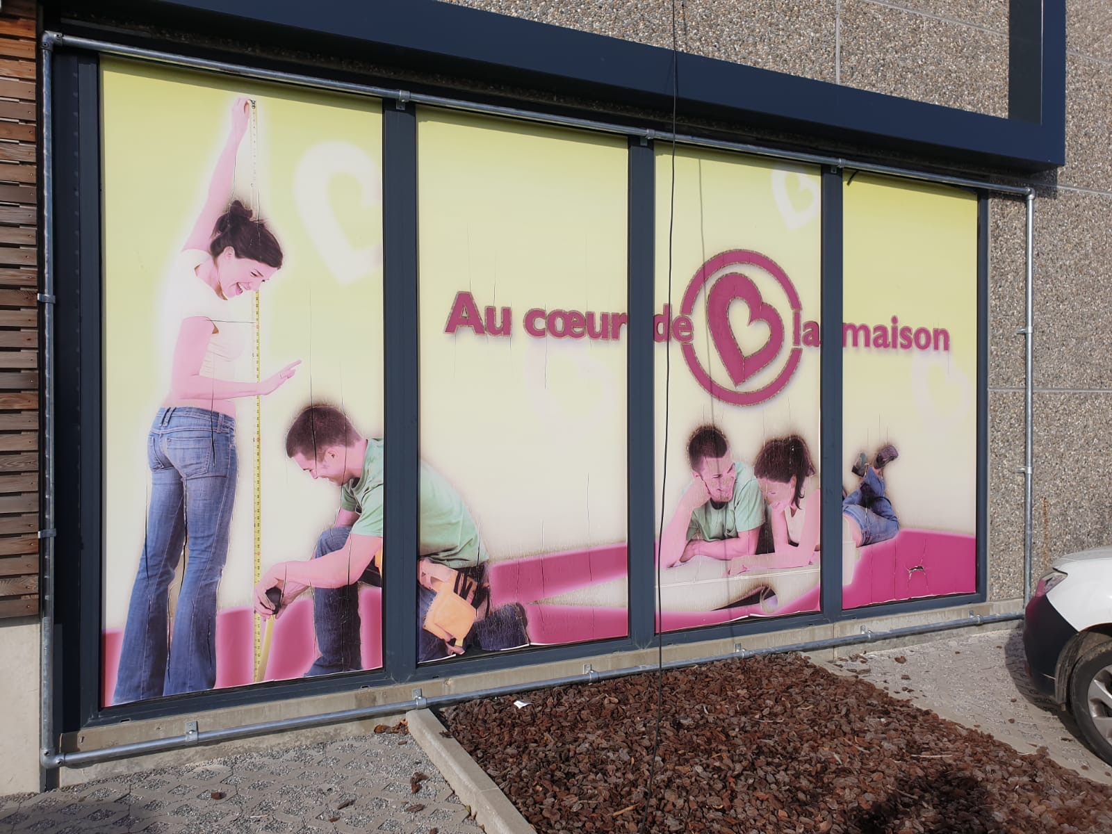 impression sur vitrine so-lution