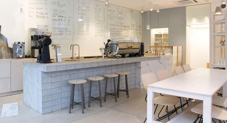 cafetería mármol