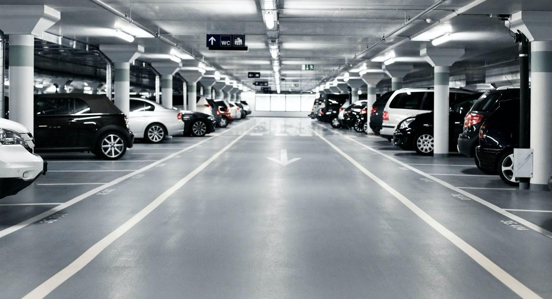 estacionamiento concreto