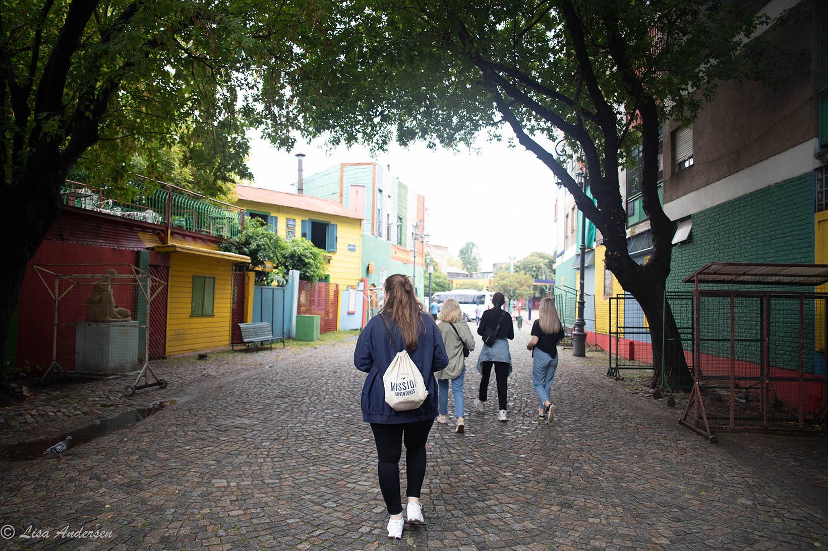 Utforsking av Bocas gater
