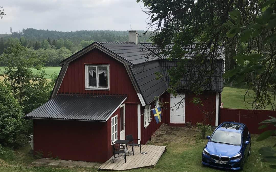 Familie auf Weltreise Casamundo Schweden
