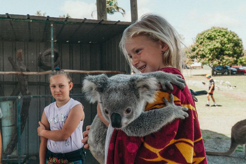 Familie auf Weltreise Eimeo Mackay Visit Mackay Die Leichsenrings