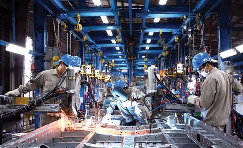 An image of a manufacturing plant.