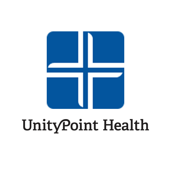 The logo for the company UnityPoint Health.
