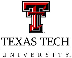 The logo for Texas Tech University.