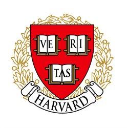 The logo for Harvard University.