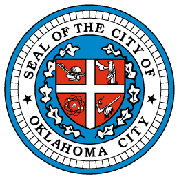 The logo of the Seal of the City of Oklahoma City.
