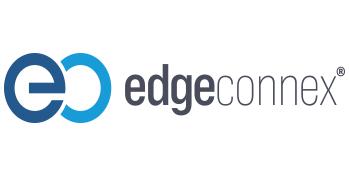 The logo for the company EdgeConnex.