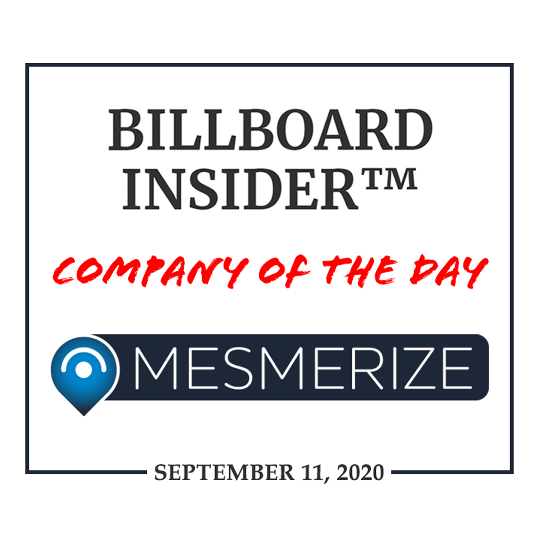 Mesmerize Named Company of the Day by Billboard Insider