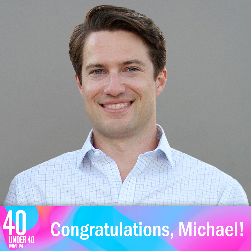 VP of Business Development, Michael Morgan Named to MM&M's Inaugural 40 Under 40 List