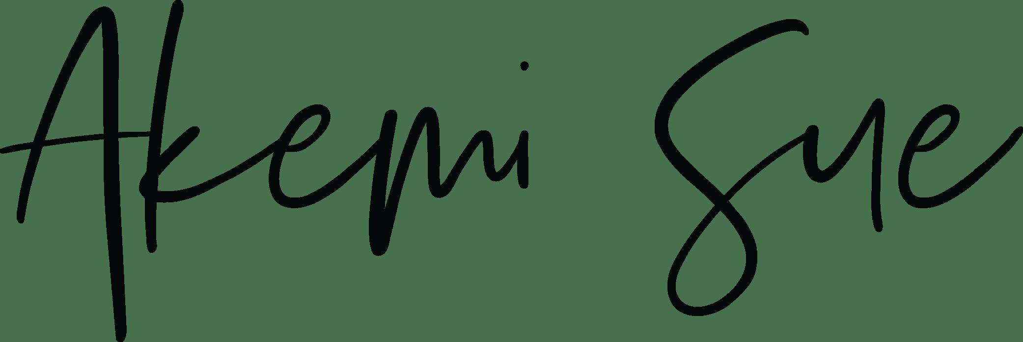Akemi.Sue.Logo