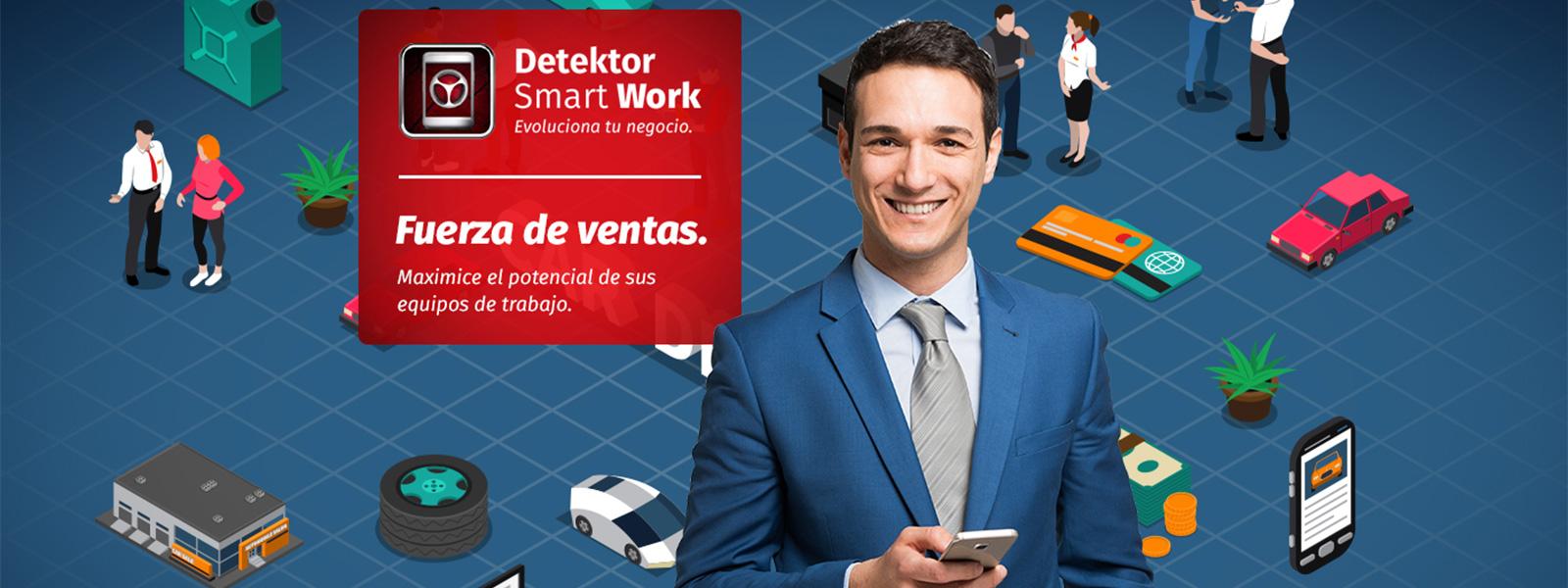 Detektor SmartWork para su teletrabajo
