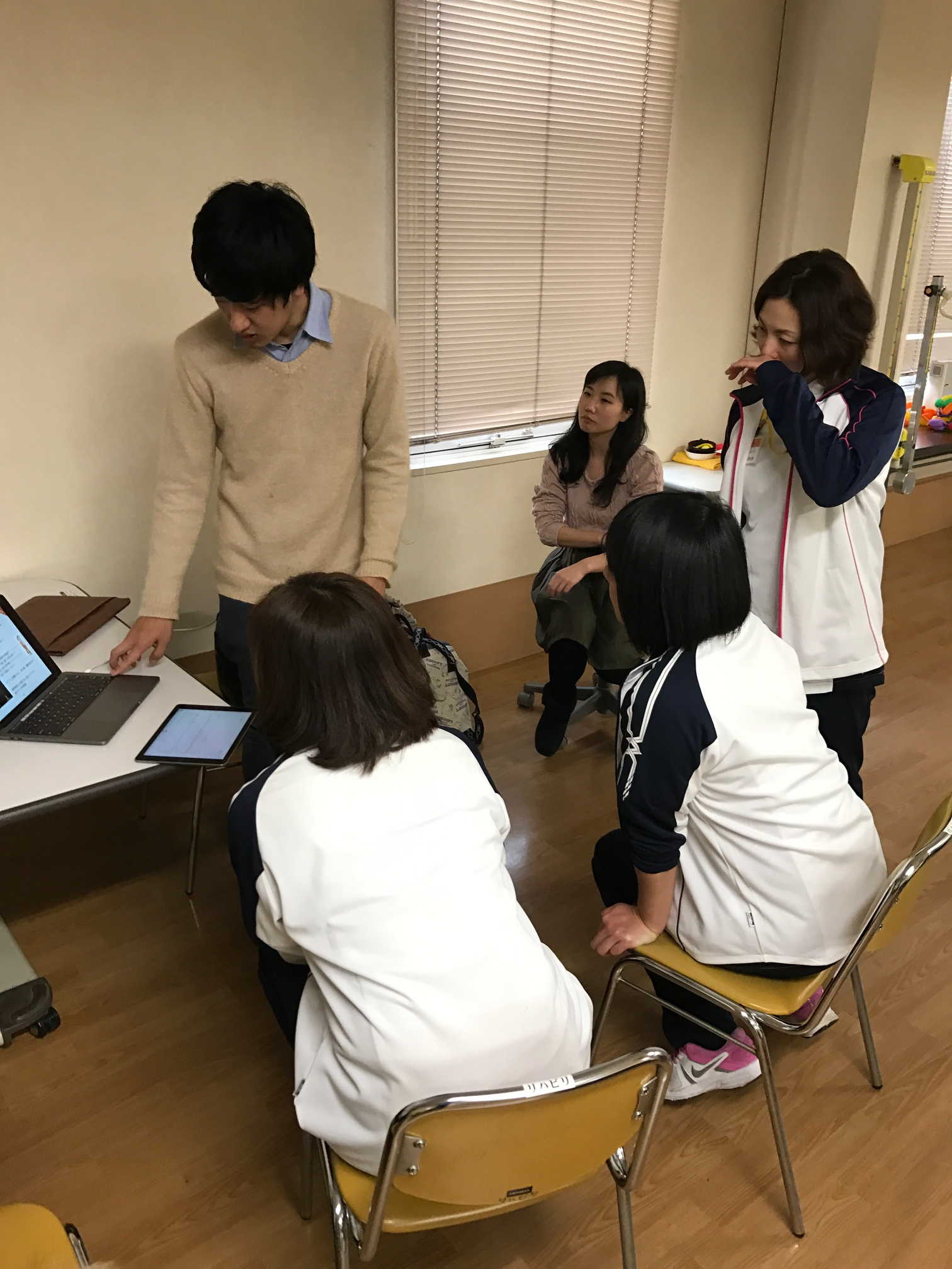 interview to physical therapists